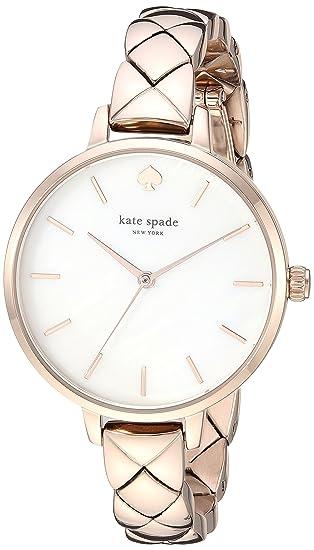 2fd5a07e3e36 Kate Spade New York Metro Reloj de Cuarzo Oro rosá: Amazon.es: Relojes