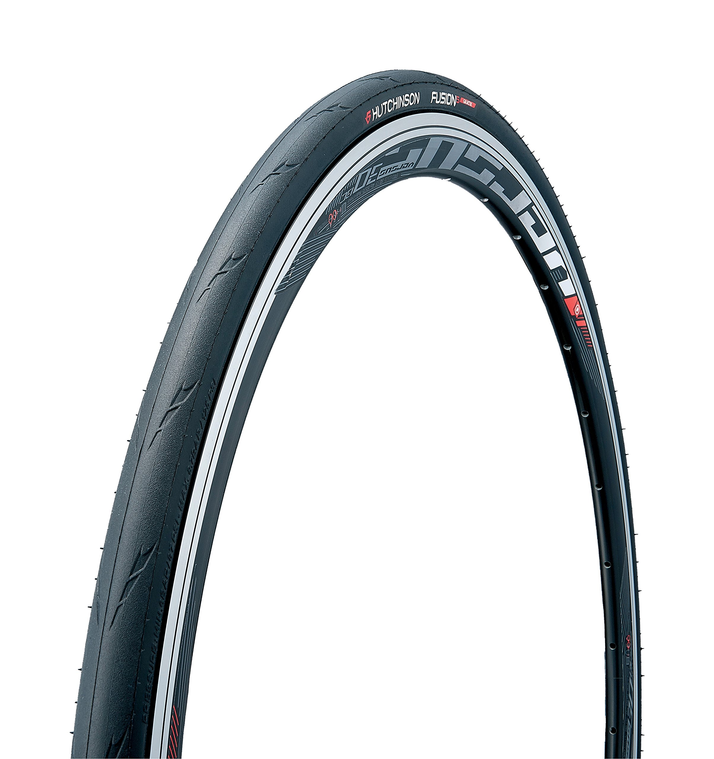 Hutchinson New 2018 FUSION 5 Galactik Tubeless and Tubeless Ready Bike Tire with the new ElevenSTORM compound (700 x 23 Tubeless)