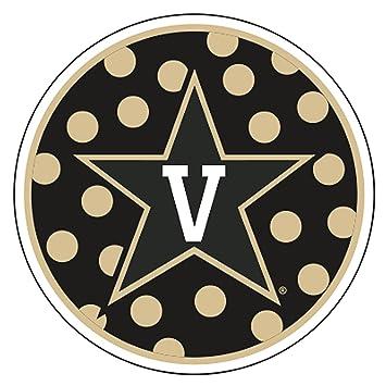 Vanderbilt University S16995 Metallic Magnets Decals