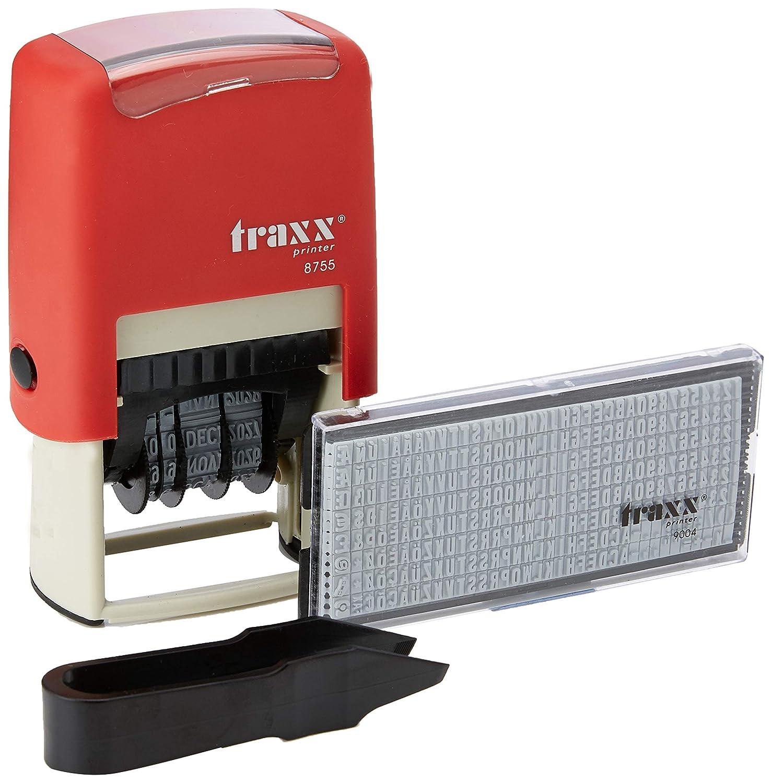 TRAXX 87551K DIY Selbstfärbender Stempel 42 x 26 mm mit Datum, maximal 2 Zeilen französisch B07HNX3ZQV     | Won hoch geschätzt und weithin vertraut im in- und Ausland vertraut
