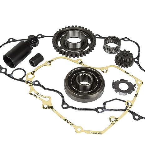 Ideal reforzado Starter embrague extractor del volante reducción Gear Kit de juntas para Honda TRX 450