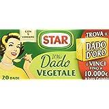 Star - Vegetale, Ricco di Sapore, 9 verdure - 20 dadi - [confezione da 6]
