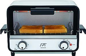 SPT SO-0972W Easy Grasp 2-Slice Countertop Toaster Oven