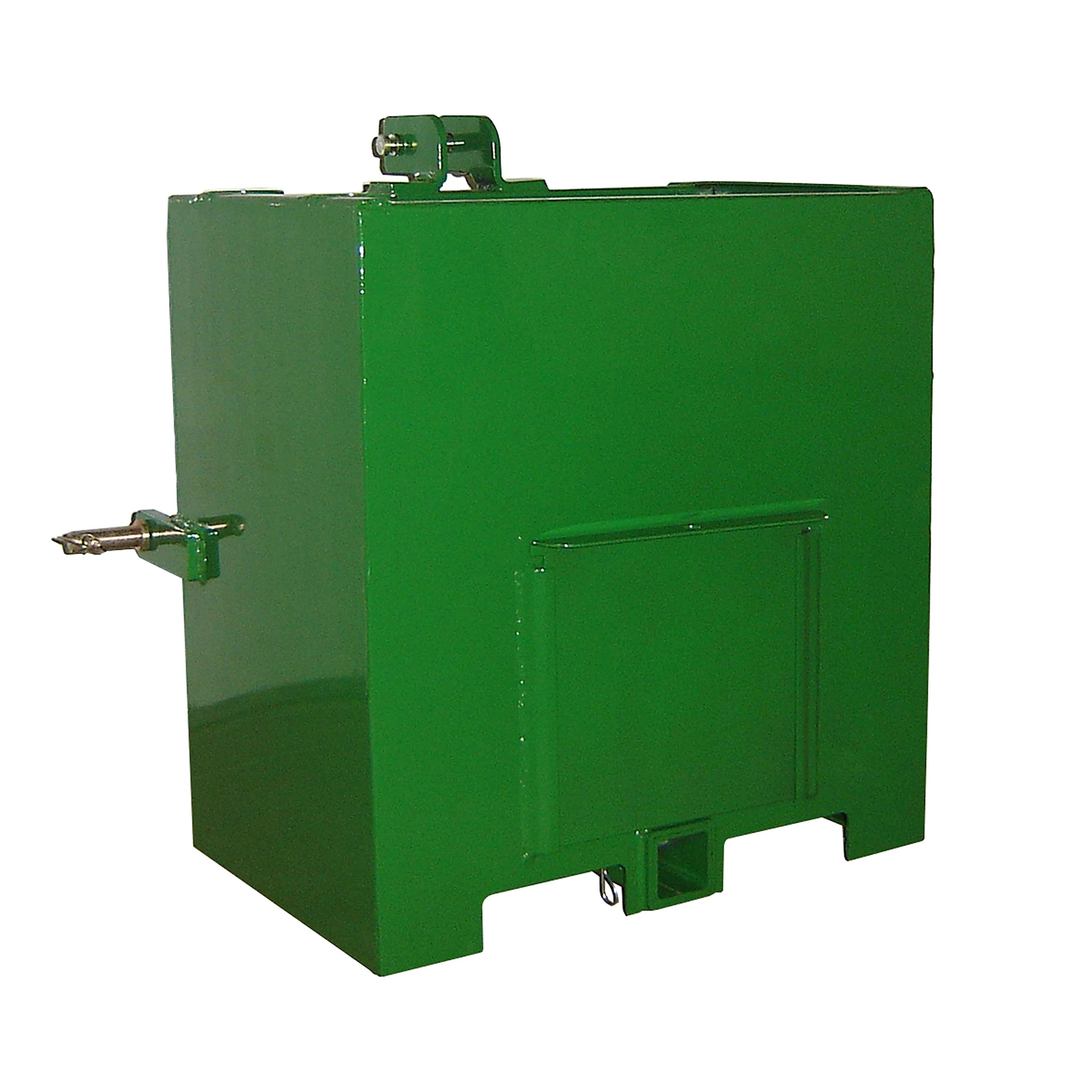 Titan Category 1 Ballast Box 3 Point Cat 1 Fits John Deere Tractors by Titan Attachments