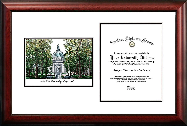 United States Naval Academy Scholar卒業証書フレーム