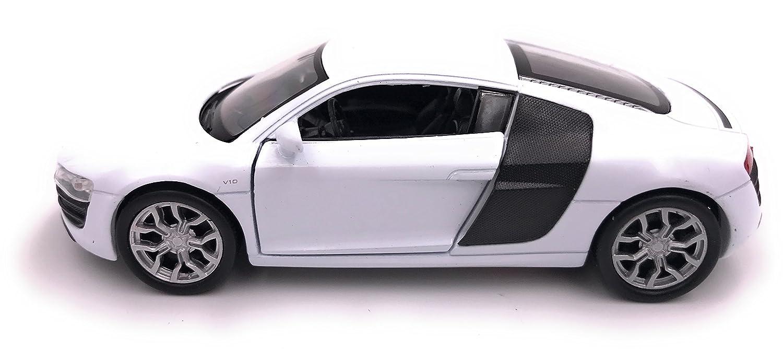 Welly Audi R8 V10 Plus Blanc Modèle Auto Autorisé Produit 1: 34-39 Emballage D'origine