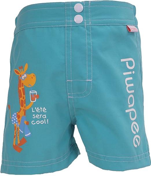 Piwapee - Short Pañal para nadar anti fugas Jirafa 8-11 KG / 6-