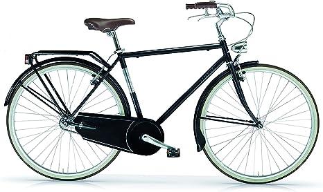 MBM Moonlight - Bicicleta para Hombre sin Cambios, Hombre, Moonlight, Negro: Amazon.es: Deportes y aire libre
