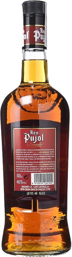 Pujol - Ron Añejo Elaborado Con Destilados Y Aguardientes Selectos - 1 L