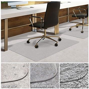 Alfombrilla de PVC para el suelo debado de la silla, protector de suelo, para