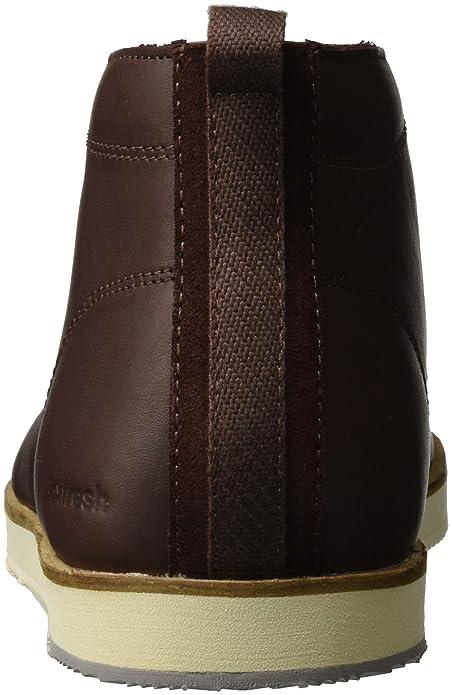 Geber, Sneaker a Collo Alto Uomo, Marrone (Braun CHN), 45 EU Boxfresh