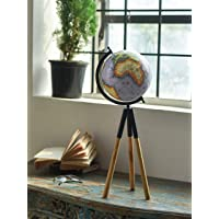 """Sterling Tripod Purple Sea World Globe for Home & Office Decor 
