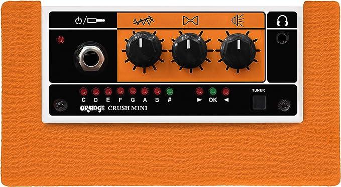 Orange Mini Crush - vue du dessus