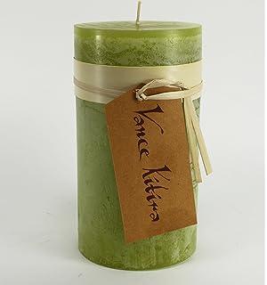 Amazon.com: Vance Kitira Timber Pear Shaped Candle - Tangerine ...
