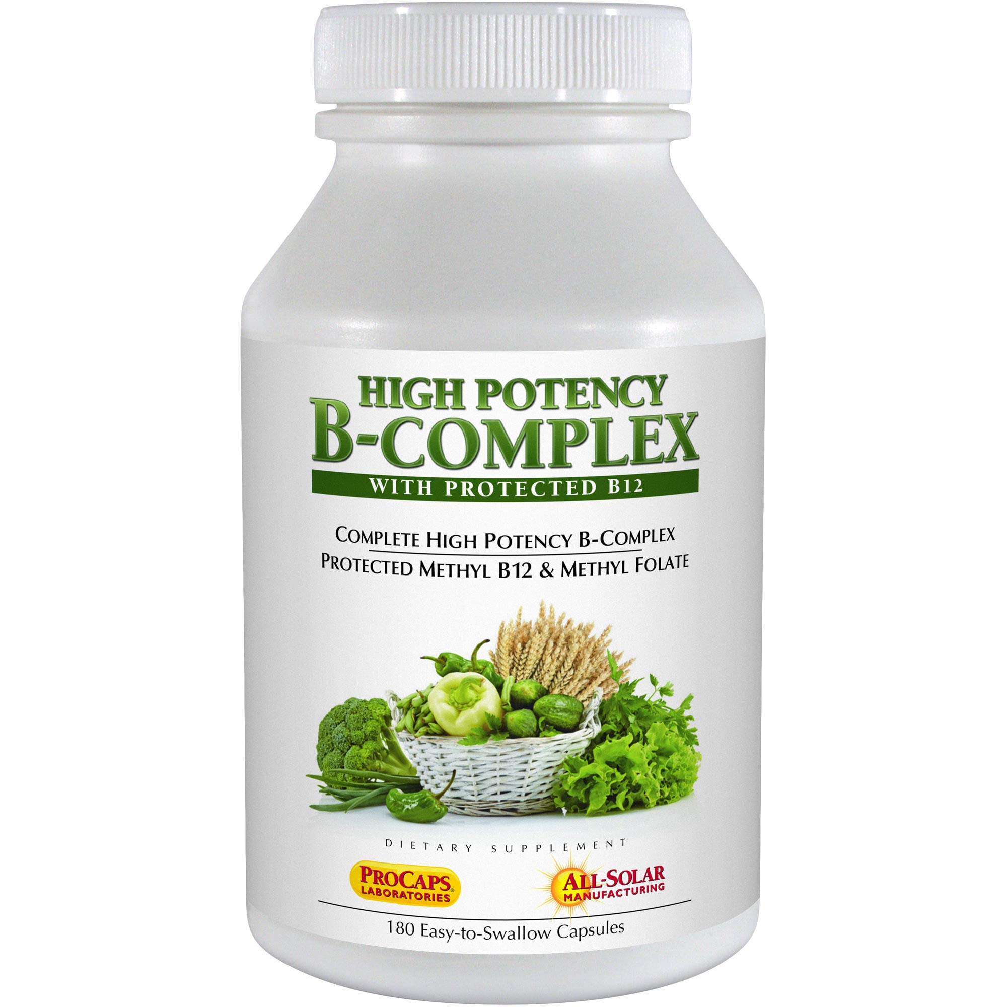 Andrew Lessman High Potency B-Complex, 180 Capsules by Andrew Lessman
