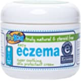 TruKid Easy Eczema Cream, Soothing relief therapy, Unscented,  4 Oz