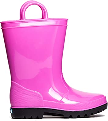 ZOOGS Childrens Rain Boots with Handles Boys /& Girls Little Kids /& Toddlers