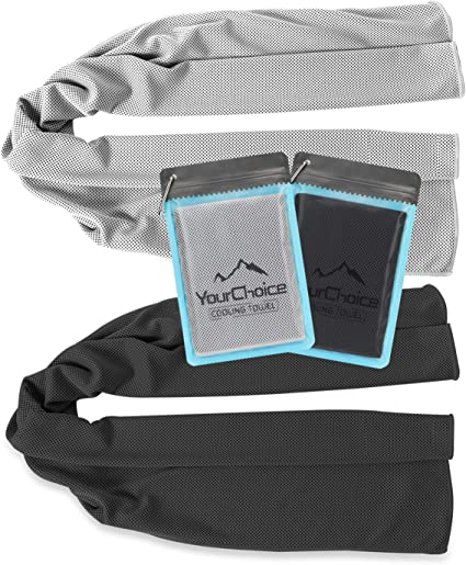 Instant Cooling Towel Sports Gym Cycling Sweat Relief Absorbent Neck Wrap