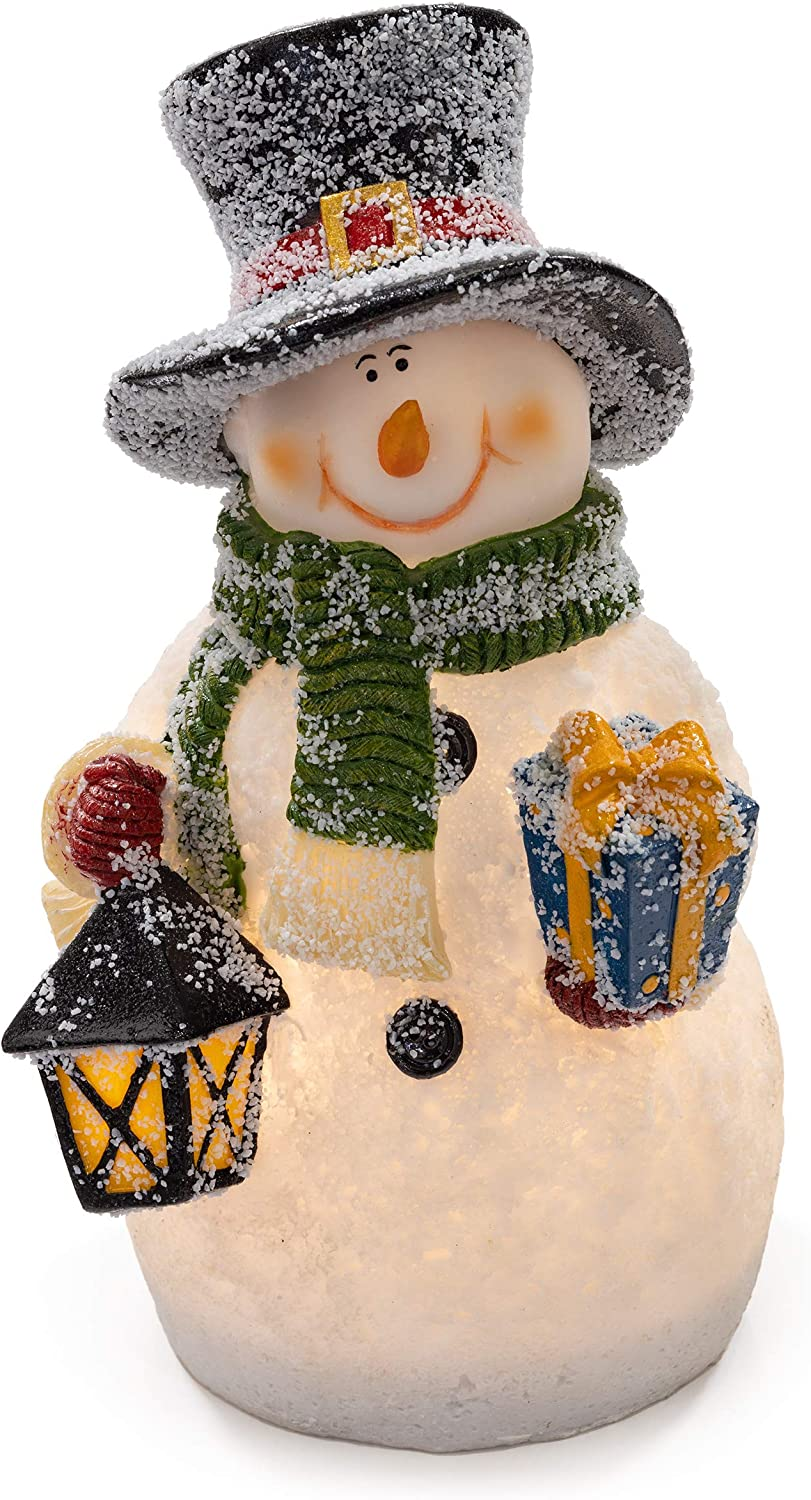 VP Home Christmas Glowing Snowman LED Holiday Light
