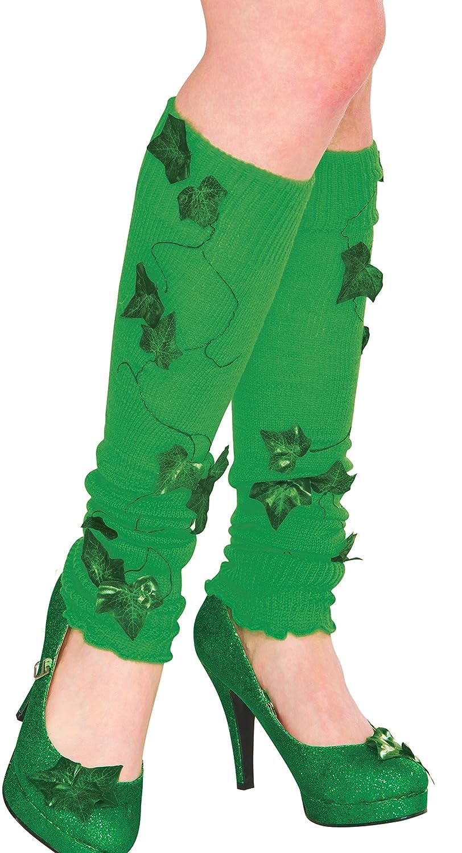 Rubie's Women's DC Comics Poison Ivy Leg Warmers Green One size Rubie' s Costume Co. 38026