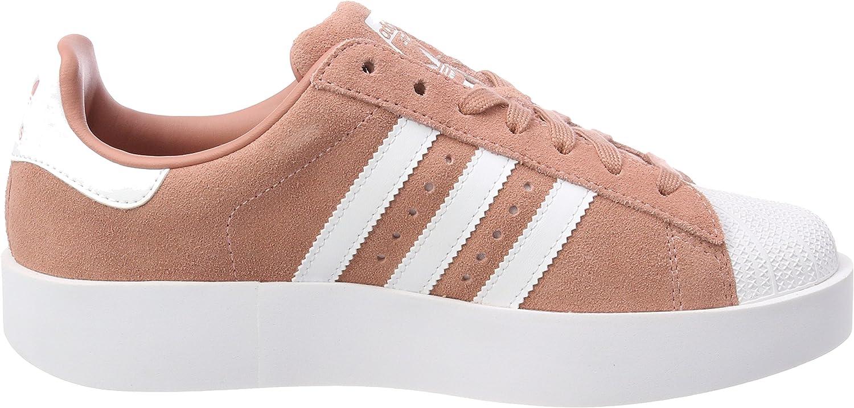 adidas Superstar Bold, Baskets Femme Rose (Ash Pink/Footwear White/Gold Metallic 0)