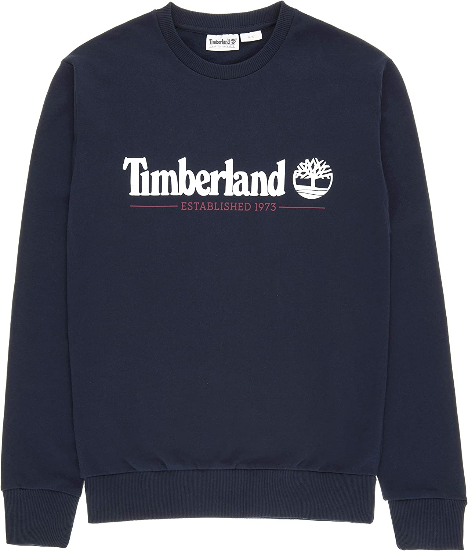 Timberland Crew Sweatshirt Felpe da Uomo Blu