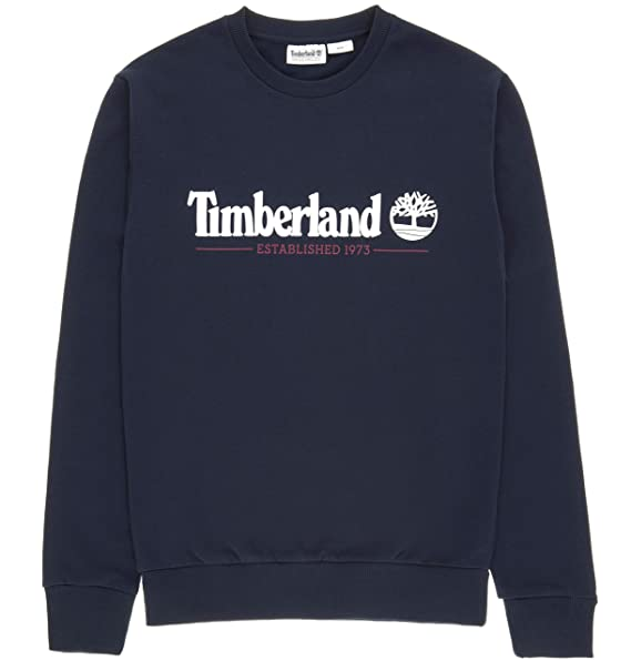 Timberland Crew Sweatshirt Sweatshirts Herren Blau: Amazon