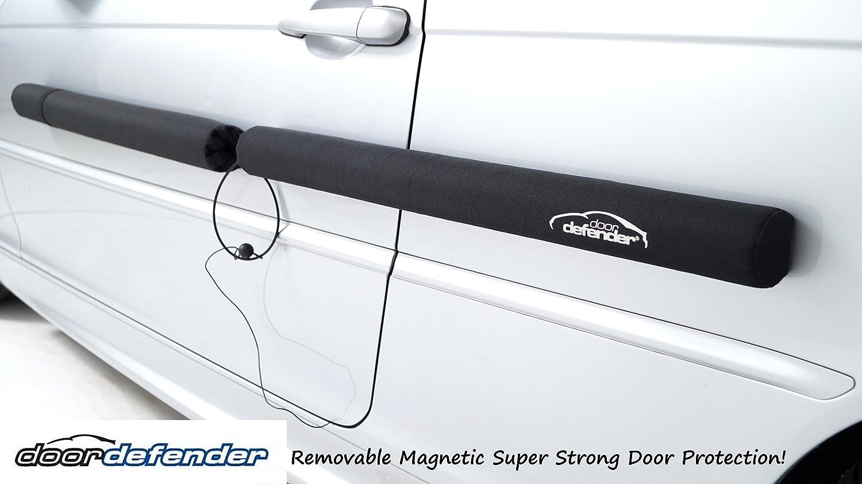 Fydun Protezione della protezione della porta 4 pezzi Protezioni dei bordi della portiera della macchina Copertura della copertura Striscia Paraurti Angolo Protezione Grigio