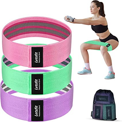 Pilates(Pink) Pilates/(Pink/) DB Resistance Bands Band for Exercise,Yoga Fitness Bands,Workout Bands for Stretch,Physical Therapy