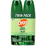 Off! Deep Woods Insect Repellent VIII Dry, 4 Ounce, 2 Count