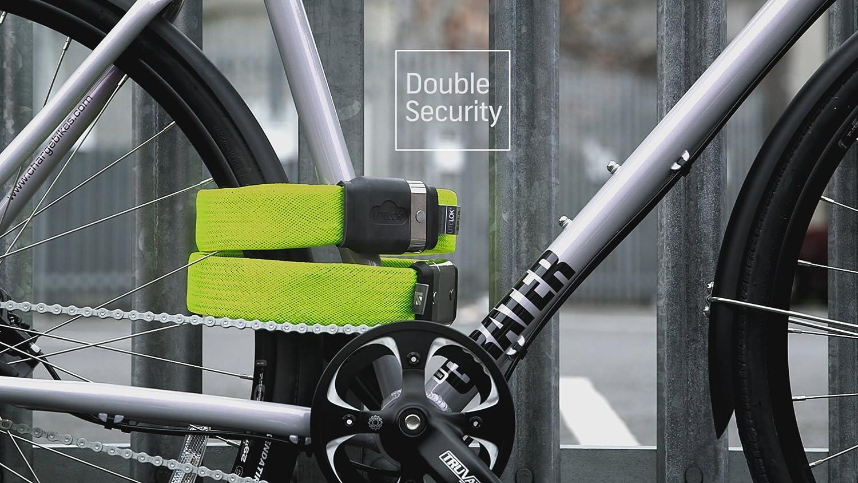 LITELOK Cerradura de Bicicleta Twin Gold (patrón de Espiga ...