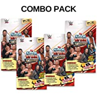 Topps WWE Slam Attax Universe Multi 2019-20 Edition, Pack of 4