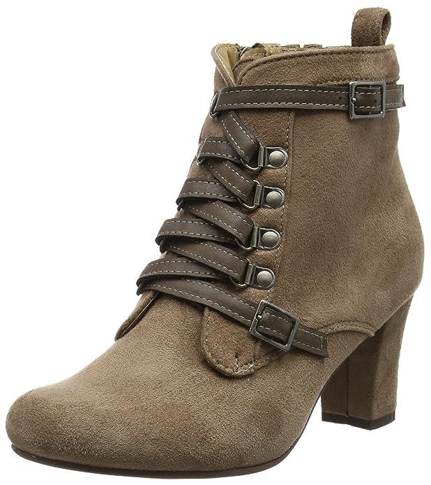 Hirschkogel 3611506, Zapatillas de Estar por casa para Mujer, Marrón (Taupe 066), 41 EU: Amazon.es: Zapatos y complementos