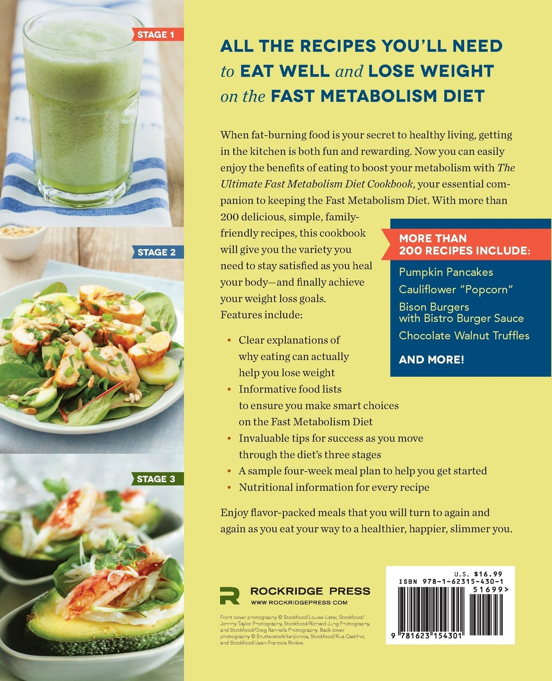 Fast metabolism diet reviews - Ultimate Fast Metabolism Diet Cookbook Quick And Simple Recipes To Boost Your Metabolism And Lose Weight Rockridge Press 9781623154301 Amazon Com Books