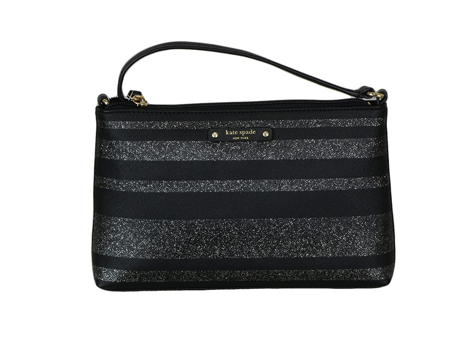Kate Spade New York Ramey Haven Line Womens Glitter Crossbody