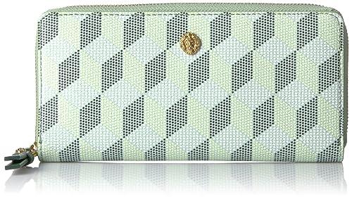 Anne Klein - Billetera delgada pequeña con zíper alrededor Para mujer: Amazon.es: Zapatos y complementos