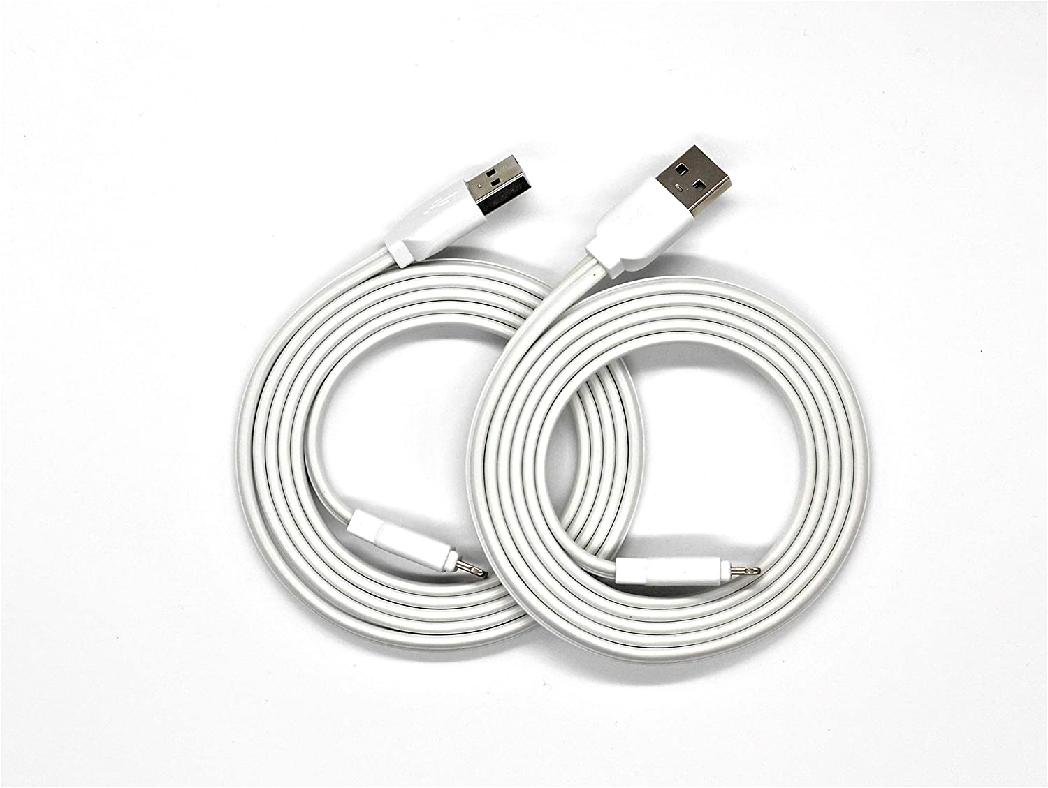 Mentiz Premium [2 Pack] Lightning (Apple Certified) Cable with Integrated Coilink System - (White: 1.2m/4ft) MFI Certified for iPhone 11 Pro 11 XS XR X 8 Plus 7 Plus 6 Plus 5s Airpods Pro Beats Solo
