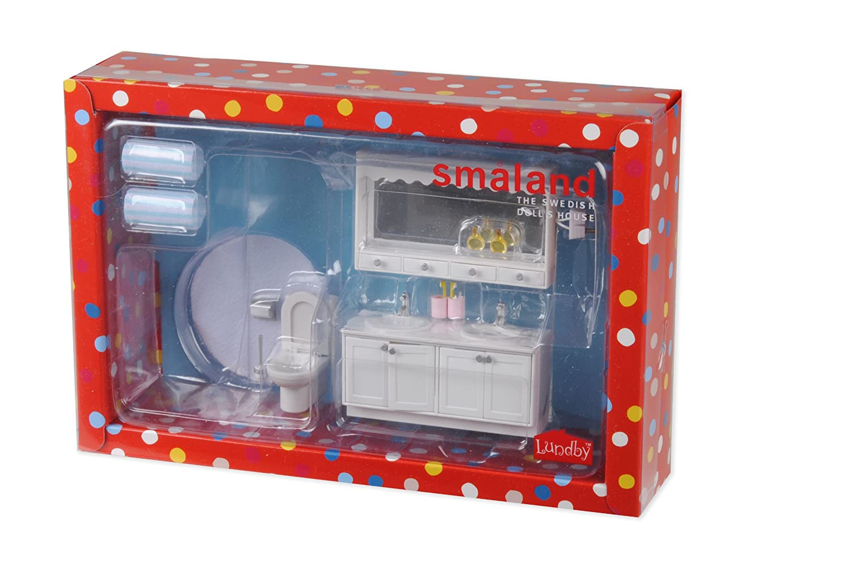 Lundby Smaland Dollhouse Bathroom Set 60.2052
