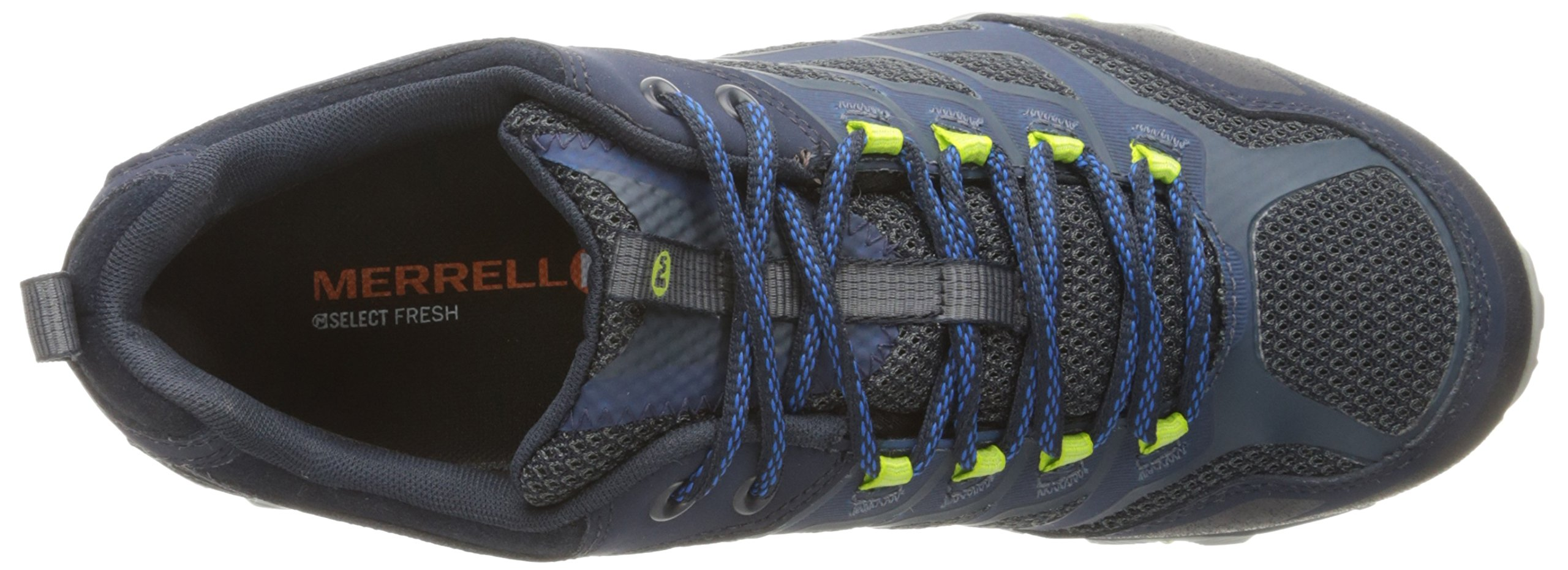 Merrell Men's Moab FST Waterproof Hiking Shoe, Navy, 8 M US by Merrell (Image #7)