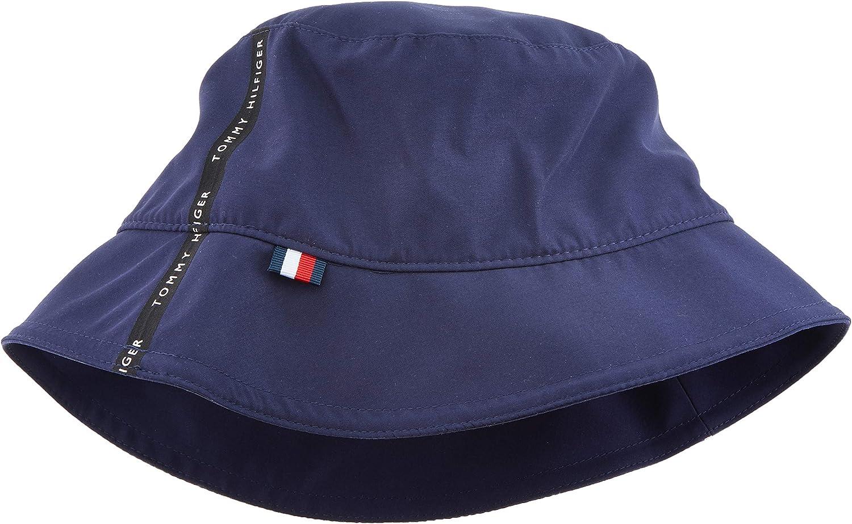 Tommy Hilfiger Tape Bucket Hat Gorra de béisbol, Azul, Talla única ...