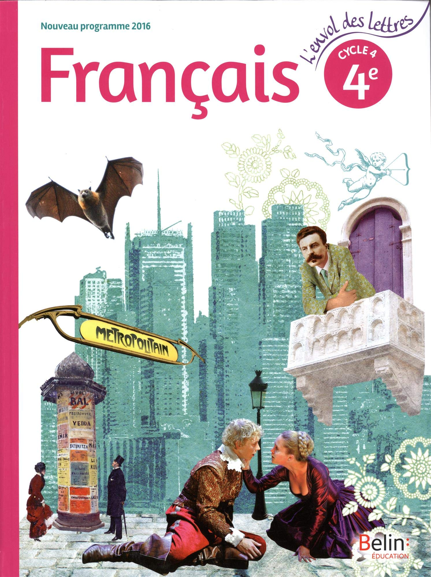 Francais 4e Cycle 4 Livre De L Eleve Emmanuel Broc