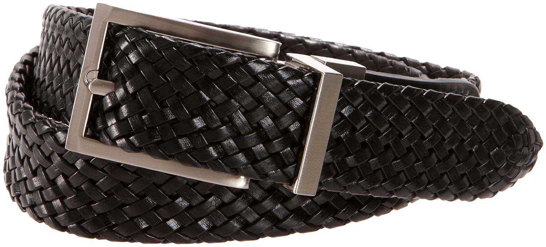 Dockers Big Boys' Braided Reversible Belt 12DO0405