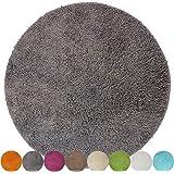 Ikea BADAREN Badematte Mikrofaser rund luxuriös weich 5 Farben (sand ...