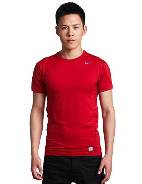 a3eb8a49 Amazon.com: Nike Mens Pro Combat Tight Compression Short Sleeve Tee ...