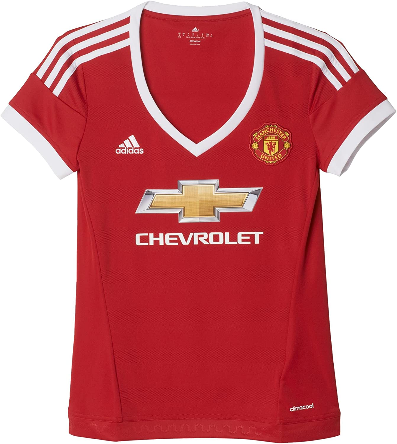 Ladies' Short Sleeved Manchester United