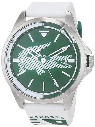 Lacoste Reloj Analógico para Hombre de Cuarzo con Correa en Silicona 2010965: Amazon.es: Relojes
