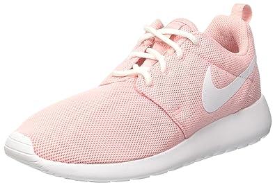 Nike Women's Wmns Roshe One, SHEEN/WHITE-WHITE, ...