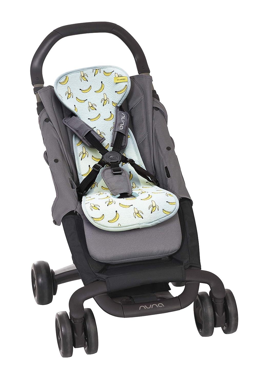 colchoneta 3D de forro suave con estructura transpirable que mantiene a su beb/é fresco y seco en su silla de paseo Limitada Colchoneta AirLayer AeroMoov para silla de paseo ASALBBA Pl/átanos Edic