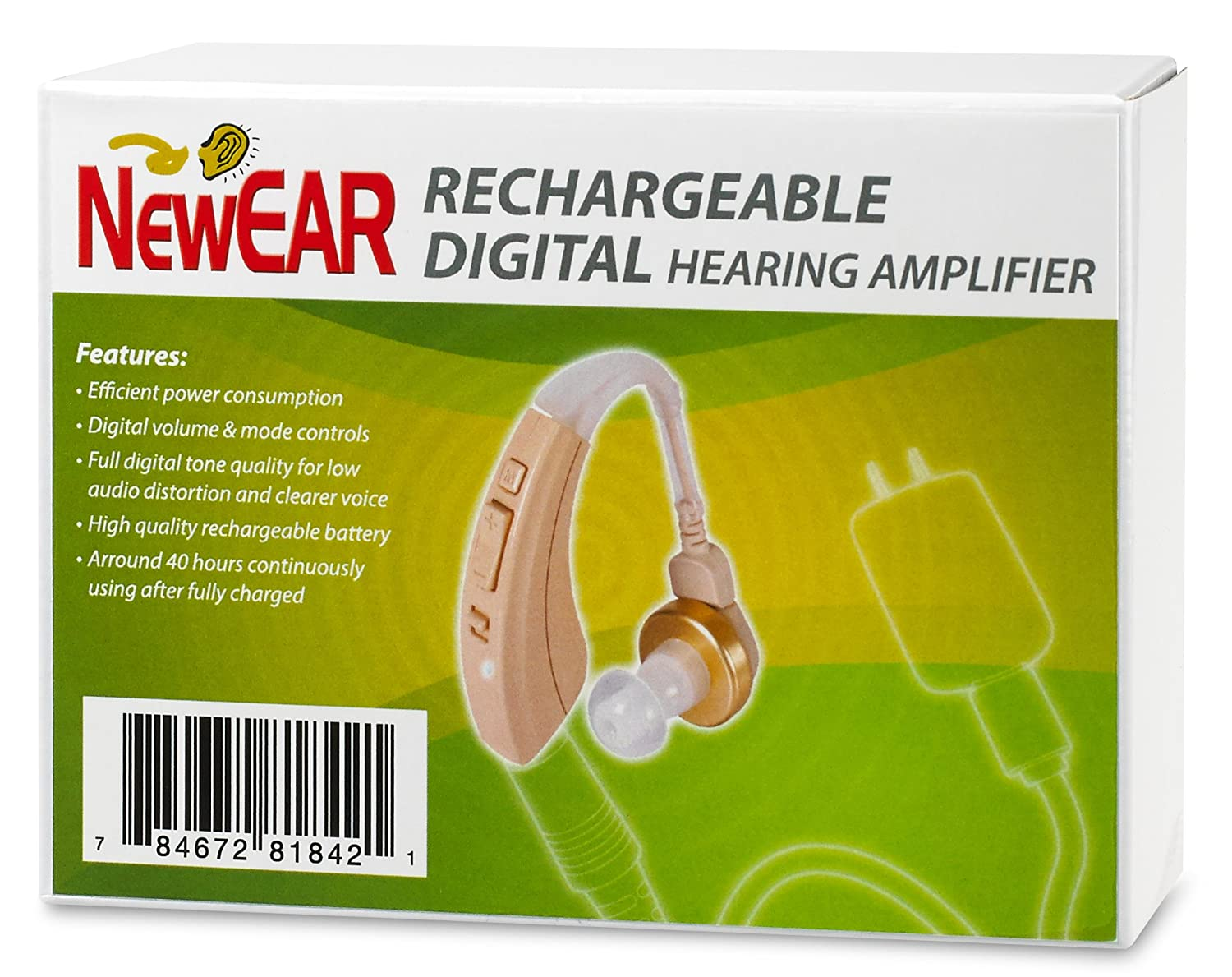Rechargeable Newear High Quality Digital Ear Hearing Living Aids Amplifiers Accessories Amplifier Fda Approved New Model Health Personal Care