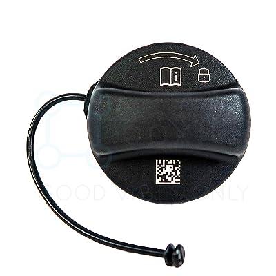 Genuine Fuel Filler Gas Cap 16117222391 fits Wide Range of BMW Models, Genuine OEM Part: Automotive